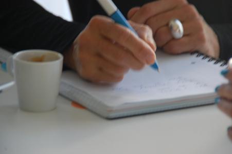 skriva, skrivrutin, morgonrutin, Malin lundskog,