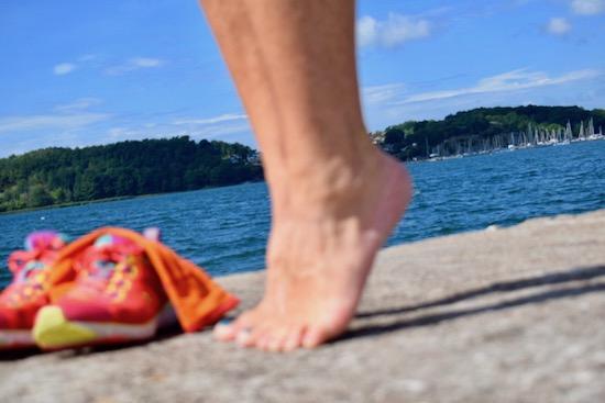 Träna dina fötter för skönare löpning, Malin Lundskog, tåhävning