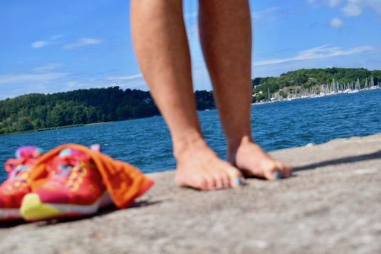 Träna dina fötter för skönare löpning, Malin Lundskog, fotträning_krama tår