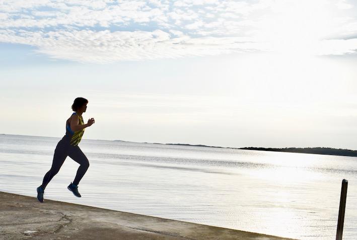 lonesome runner Malin Lundskog