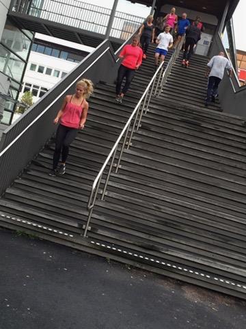 trappträning tillsammans