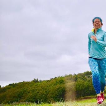 lågpulsträning, löpning Malin Lundskog