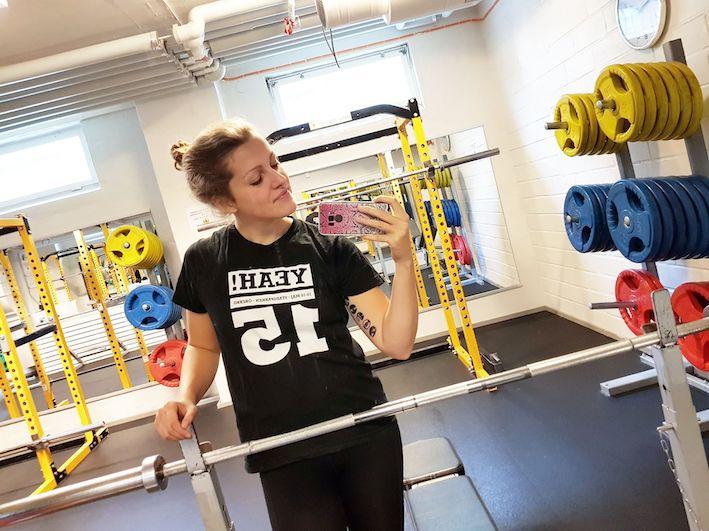 gymselfie, gästbloggare, Clara Toll, Hälsa mera