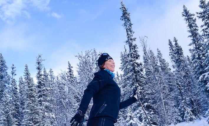 längdskidåkning, winterworkation i Åre, Malin Lundskog