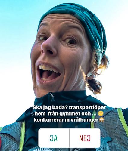transportlöpning, vinterbad, Hälsa mera, Malin Lundskog