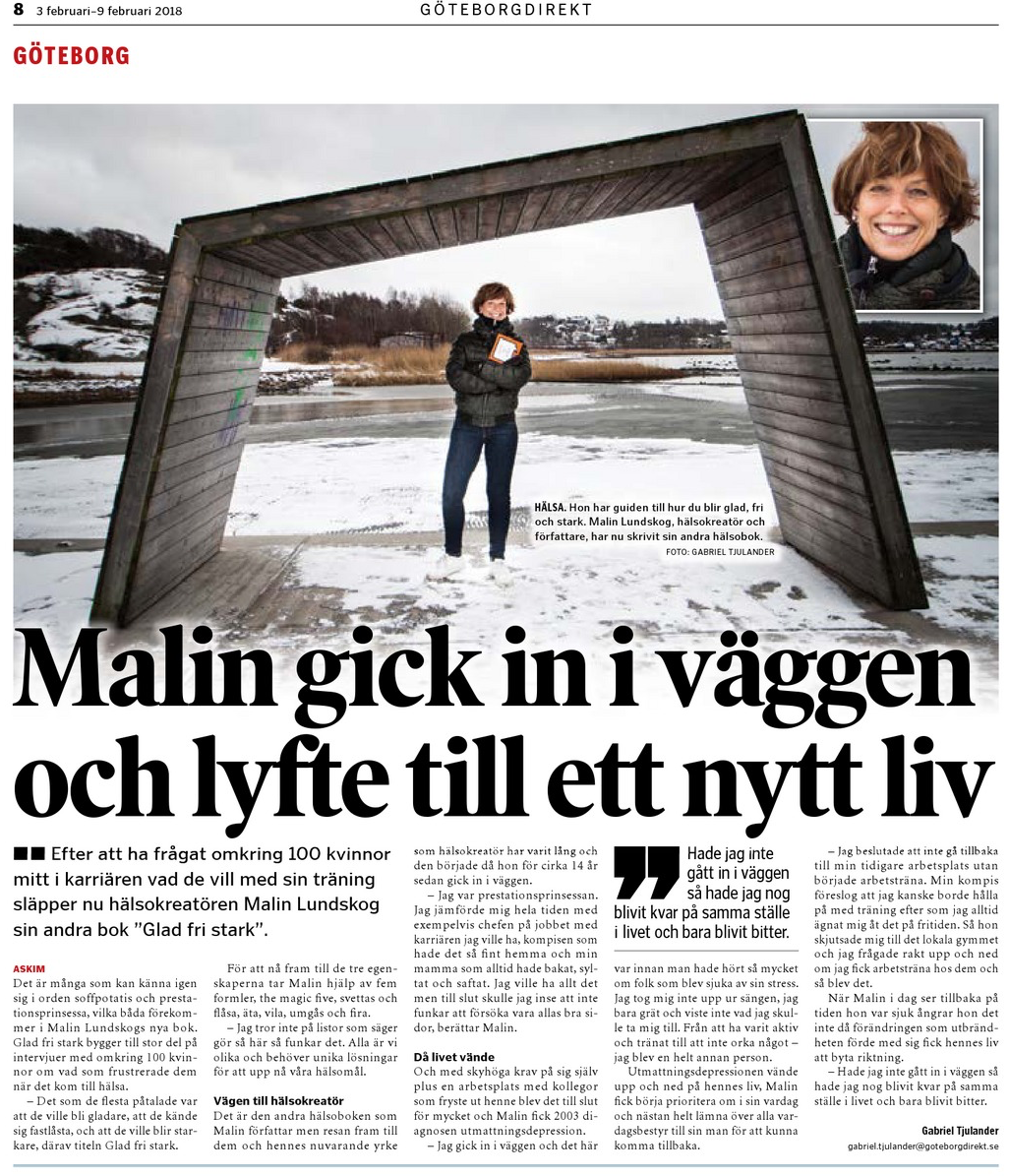 göteborgdirekt, författare Malin Lundskog