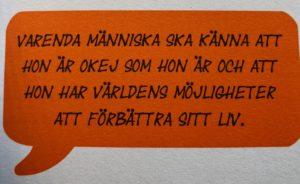 tre anledningar att gilla sig själv, glad fri stark, författare, alla hjärtans dag, citat, Hälsa mera, Malin Lundskog