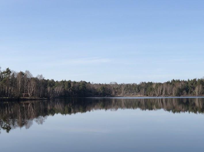 vårstress, löprunda, oxsjön, blogg, Malin Lundskog