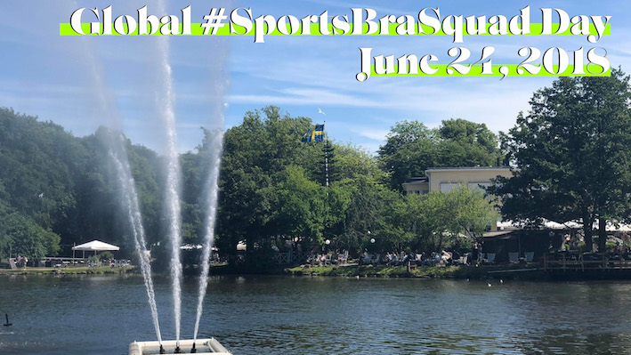 global sports bra squad day, Göteborg, Hälsa mera, löparglädje, Malin Lundskog
