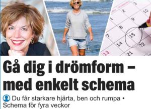 promenera dig i toppform, hälsoexpert, Malin Lundskog