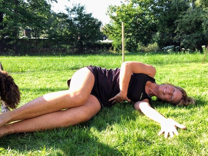 grym bröststretch och ryggrotation, tips, Malin Lundskog