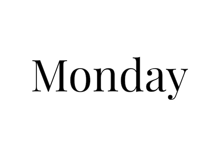 White Monday - för hälsosam hållbarhet