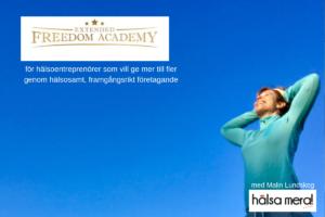Lyckas online i hälsobranschen, extended freedom academy, webbkurs, Malin Lundskog