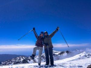 varför åka till Sierra Nevada, skidåkning, skibum, drömliv, Malin Lundskog