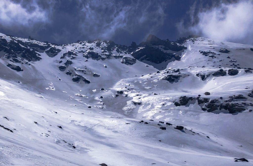 varför åka till Sierra Nevada, utsikt, skidåkning
