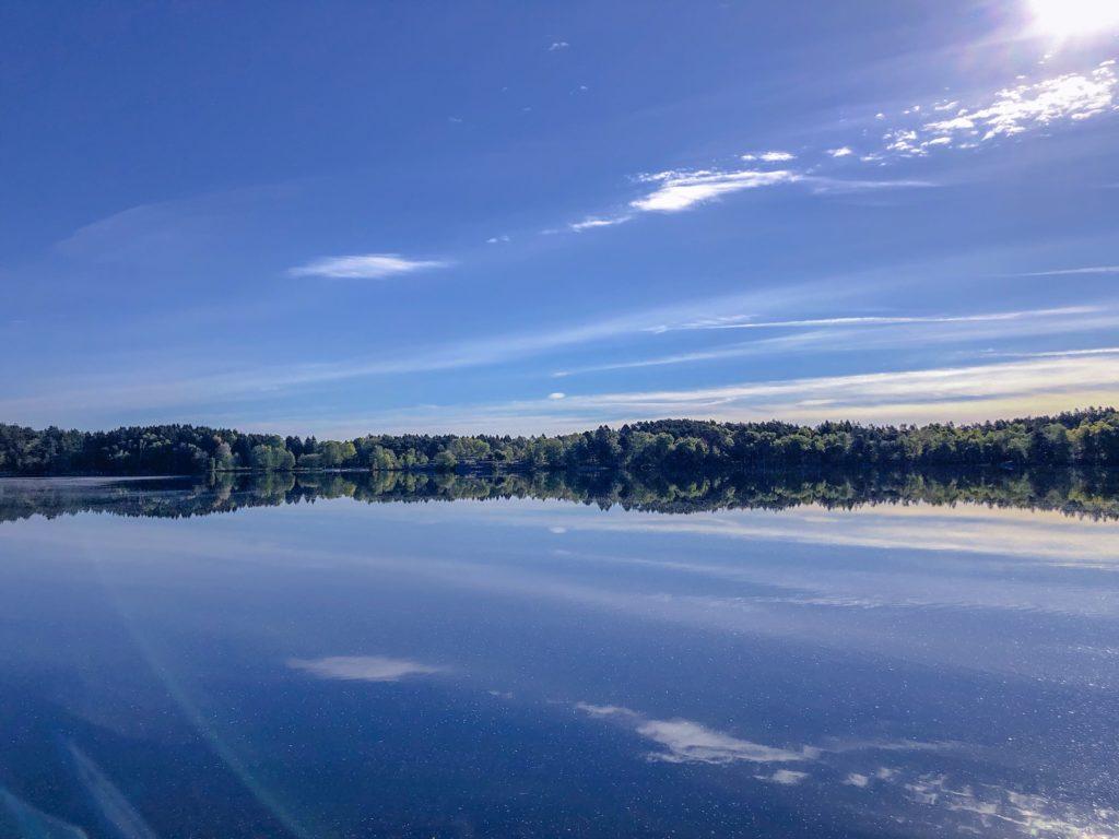 frihet har med hälsa att göra, Sisjön, Malin Lundskog, morgonpromenad
