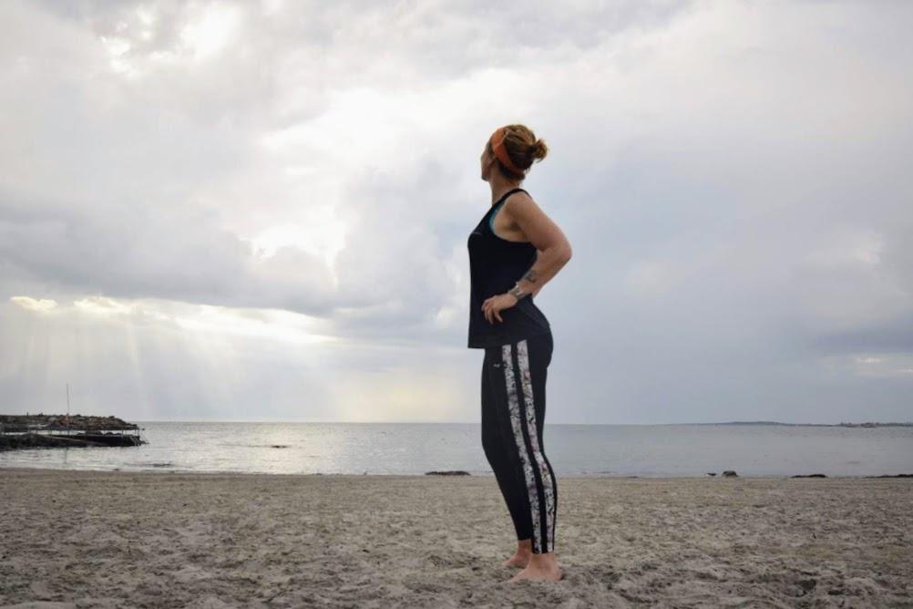 Fysisk frihet är en del av livet,  strand, Malin Lundskog