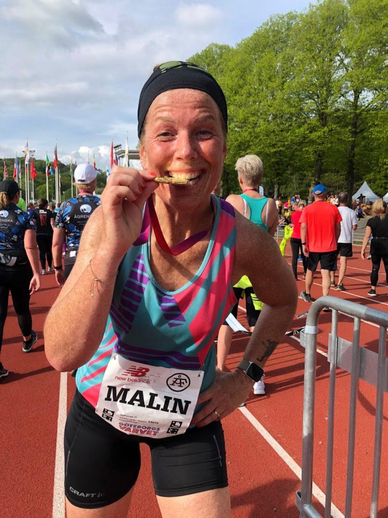 Såhär vann jag Göteborgsvarvet, guldmedalj, Malin Lundskog