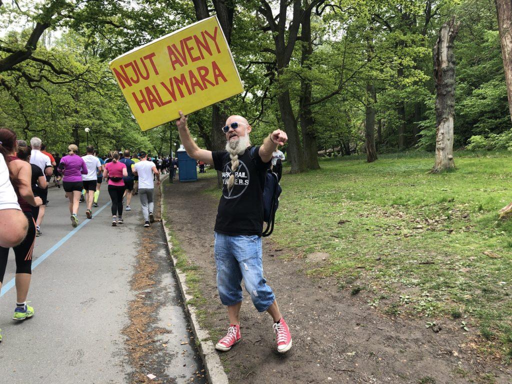 Göteborgsvarvet, Skyltmannen, Malin Lundskog