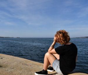 tre tips för mental frihet, havet, Malin Lundskog