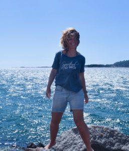 den sommarjobbande entreprenören, Malin Lundskog