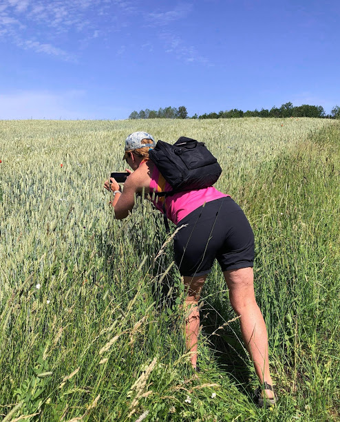 vandring i vacker natur gör underverk för hälsan, fotografering, Malin Lundskog, natur, Kinnekulle