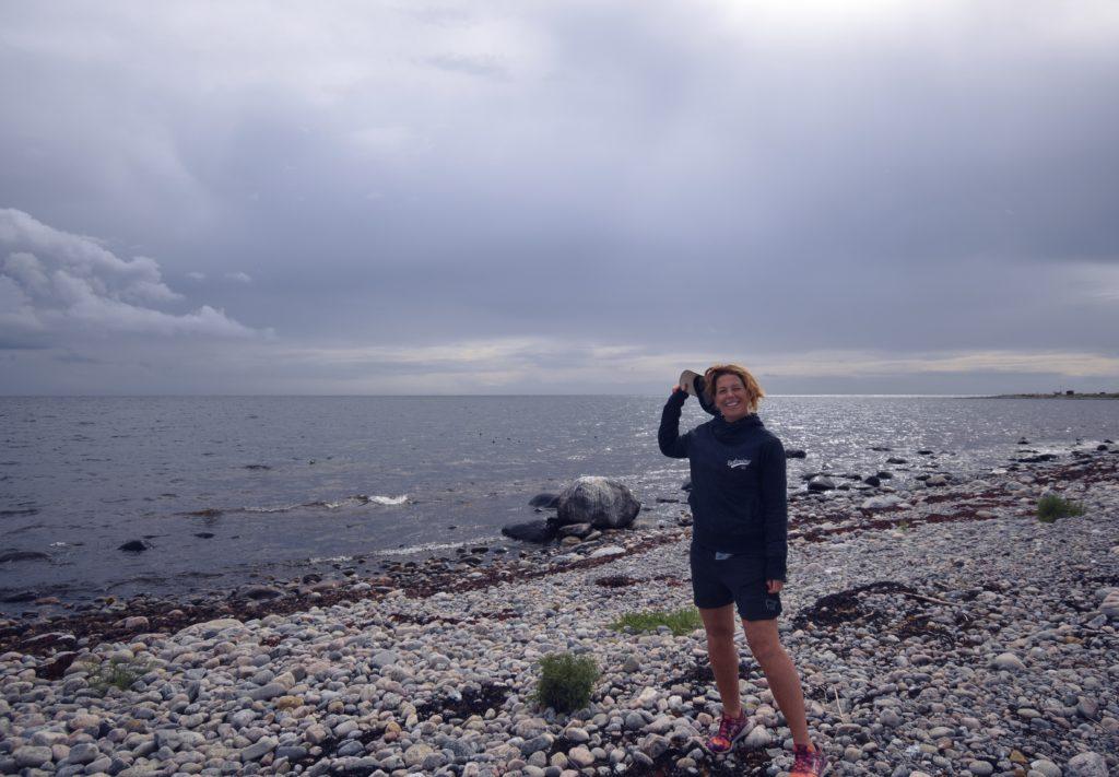 På Nidingen blir livet vackrare och tankarna klarare, Malin Lundskog