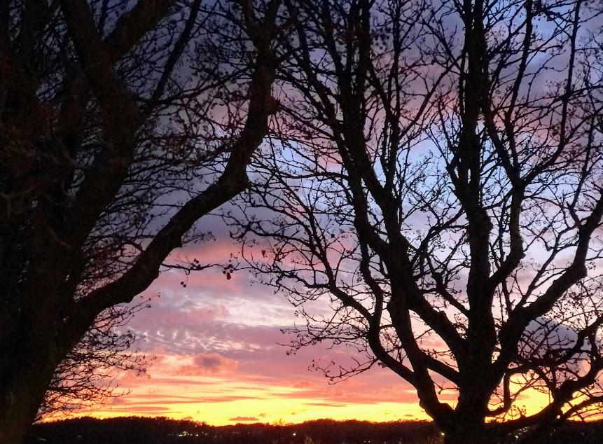 vintertid eller sommartid, vad mår vi bäst av? solnedgång, Göteborg, Malin Lundskog