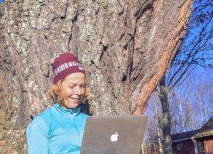 jag följer min dröm, författare, Malin Lundskog, mod