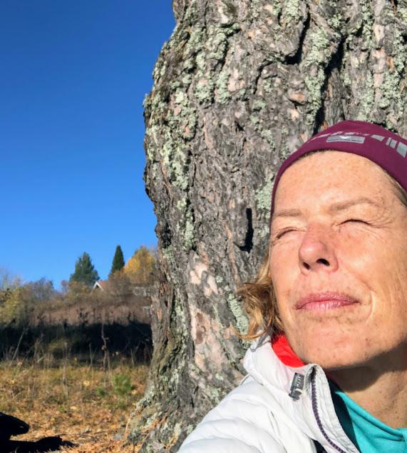 Jag följer min dröm och tar tjänstledigt, Malin Lundskog, mod, författare, natur