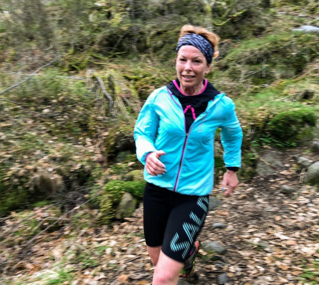 Malin Lundskog, löparglädje, trailmaraton, Springa maraton utan att träna, hur smart är det?