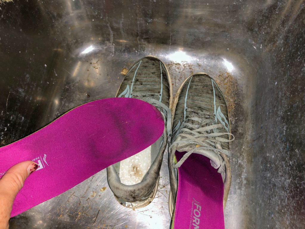 Tips på hur du gör rent dina löparskor så att de håller, innersula, löpning, hållbarhet, Malin Lundskog