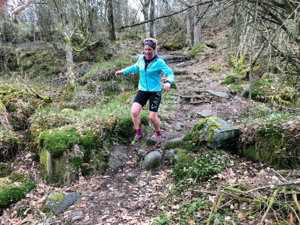 Springa maraton utan att träna, hur smart är det? Malin Lundskog, träning, löparglädje, trail
