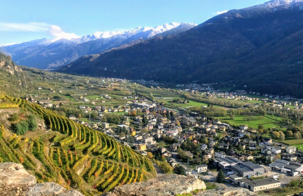 utsikt, vyer, Valtellina Wine trail, Malin Lundskog, löpning, hållbar, hållbar löpning