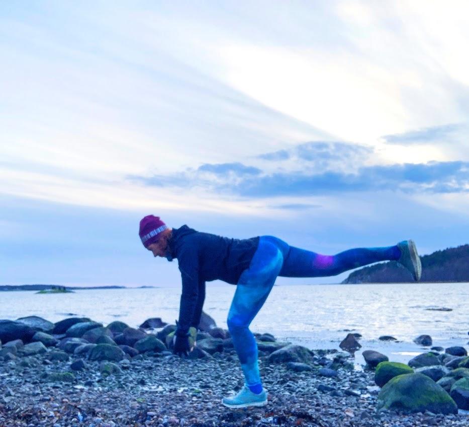 Konsten att vara snäll mot sig själv, hälsa, utonjut, träning, Malin Lundskog