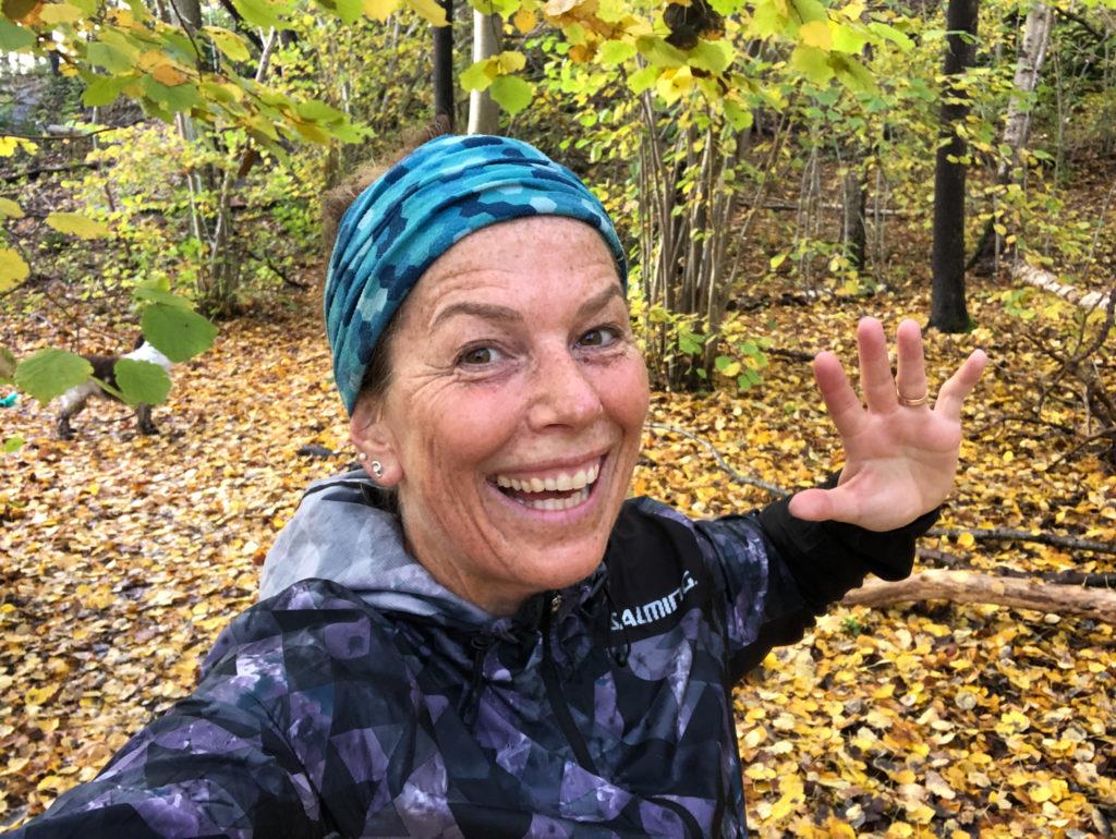 jag vill vara stark, löparglädje, Göteborgm höstlöv, Malin Lundskog, må bra