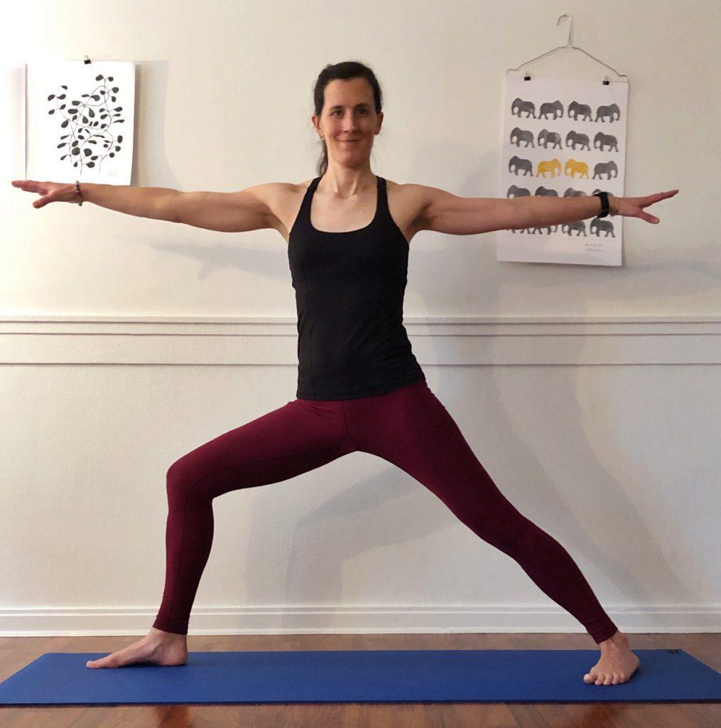 Till dig som inte tror att yoga är något för dig, krigarpostition, gästbloggare, hälsa, må bra