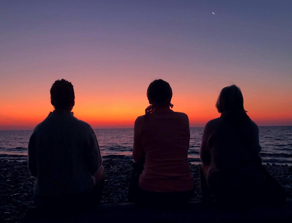 klarhet, soluppgång, Fårö