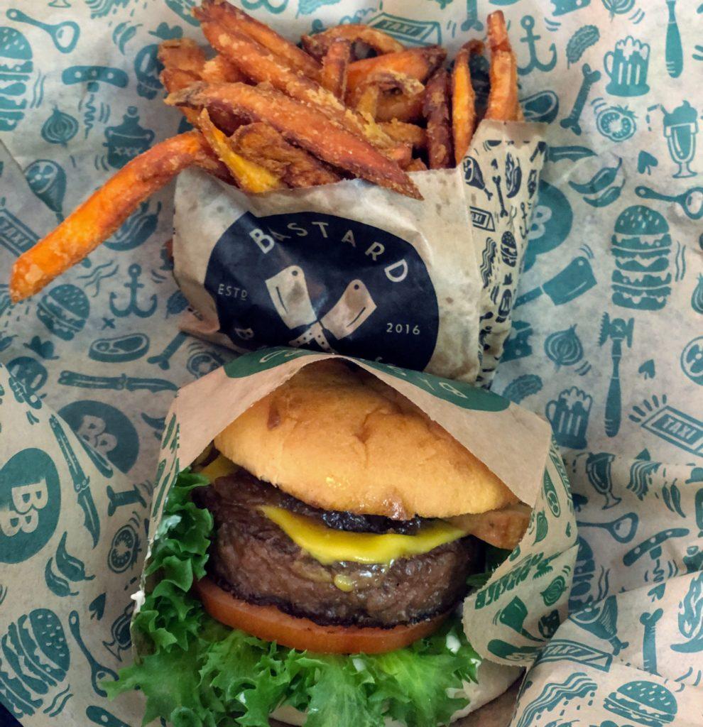 Räcker det att göra sitt bästa för att vara perfekt, bastard burgers, snabbmat, vegan burger, hälsa