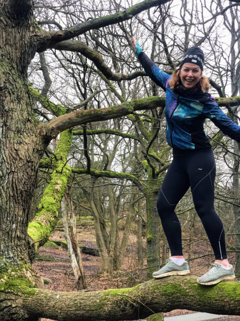 mod, Malin Lundskog, klättra i träd, Slottskogen