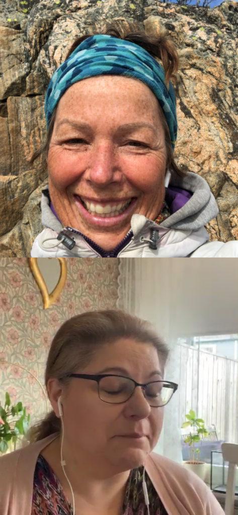 livesändningar på instagram, MAlin Lundskog, Dorotea Petersson, Annika Andebark