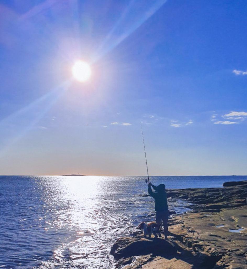 fiskelycka, hopp, optimism, mindset, västkusten, havet, fiska, Malin Lundskog, naturen