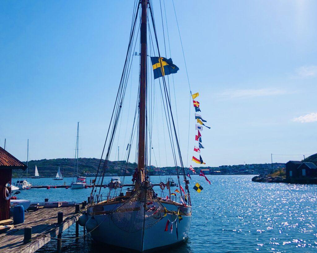 havet, midsommarafton, Malin Lundskog, stor flaggning, Sverige