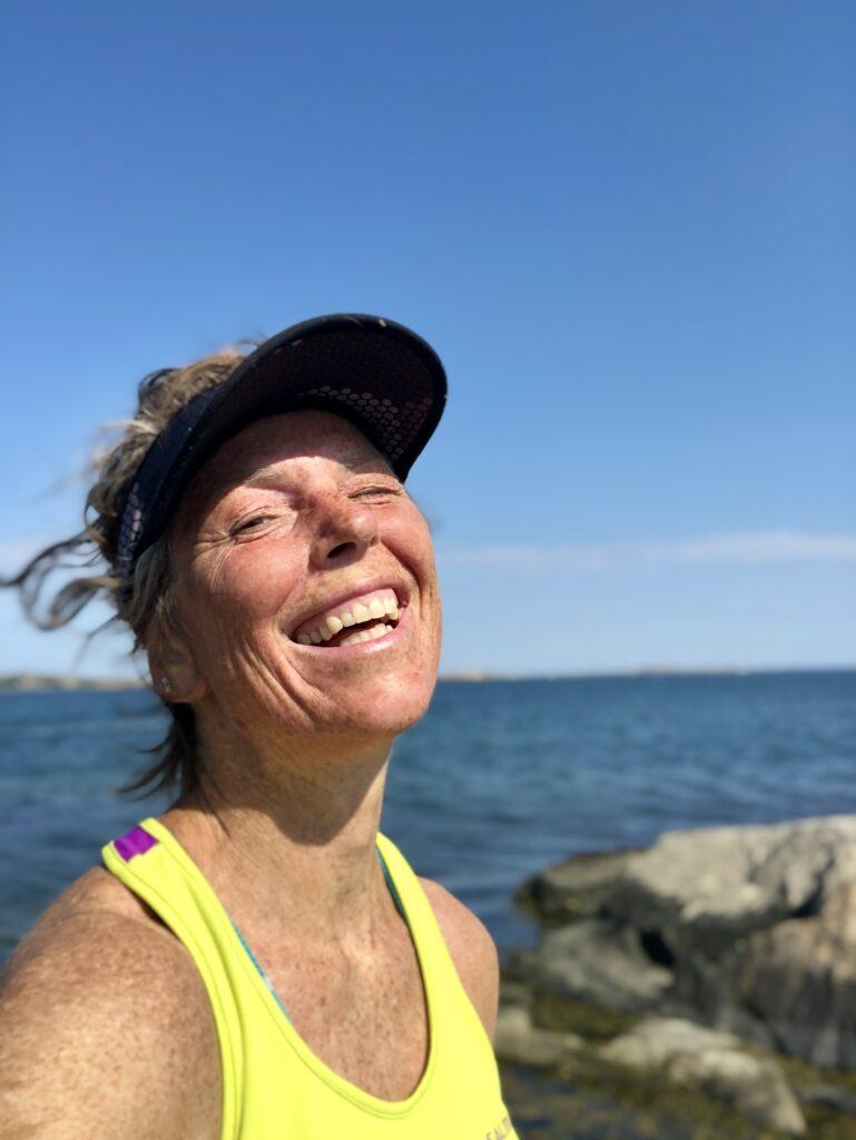 löparglädje, Malin Lundskog, utonjut, sommar, löpning, värme