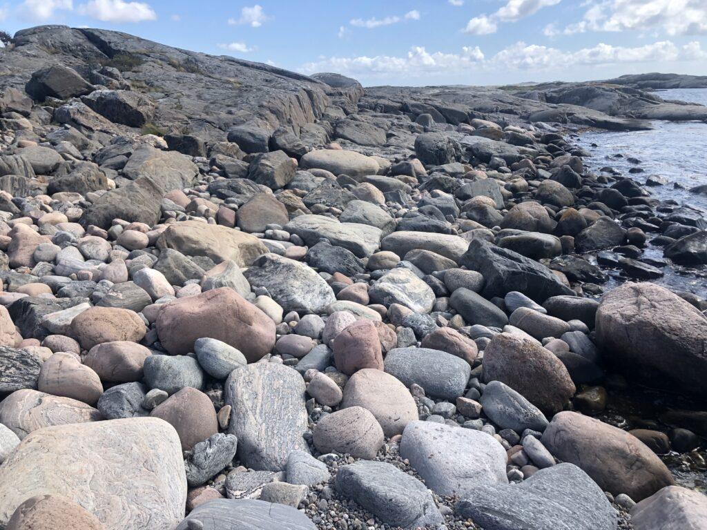 Skärgårdsleden är ett hett hemestertips, stenar