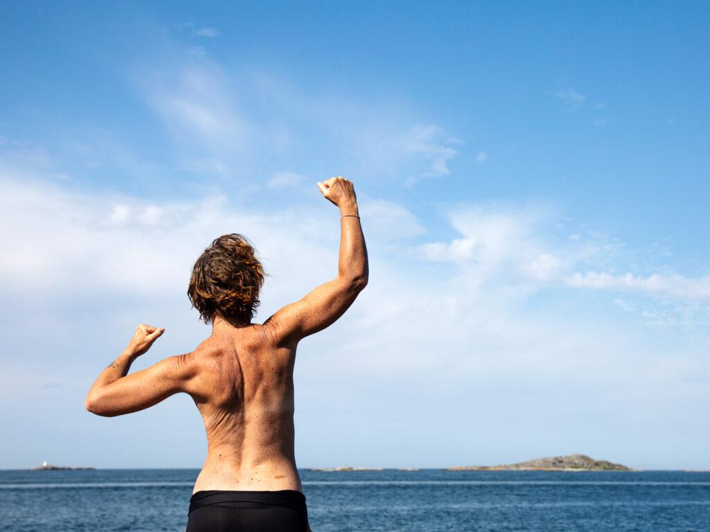 kvinnohistorier, Malin Lundskog, frihet, kvinnokropp, havet, västkusten, Knippla