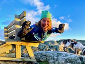hållbar i jul, Malin Lundskog, utomhusträning