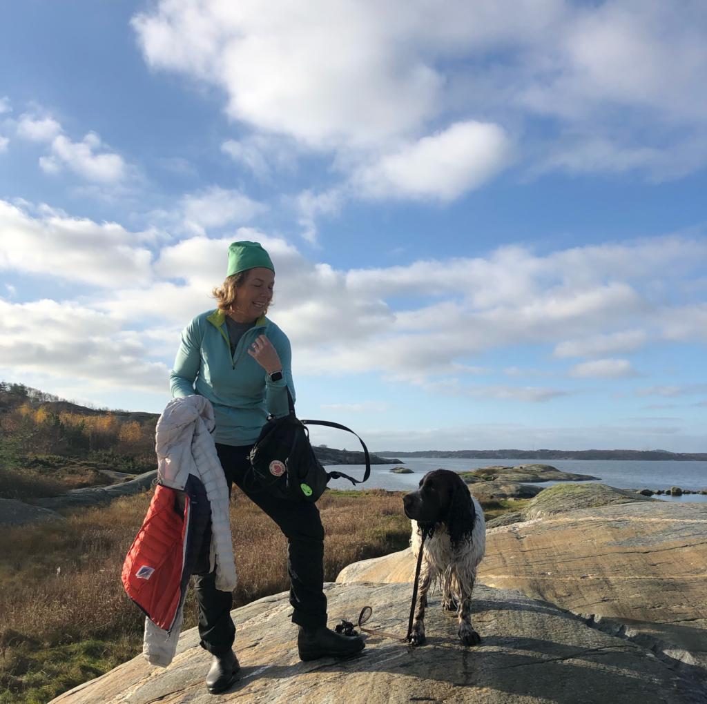 en vandring på Hisingen med picknick, Malin Lundskog