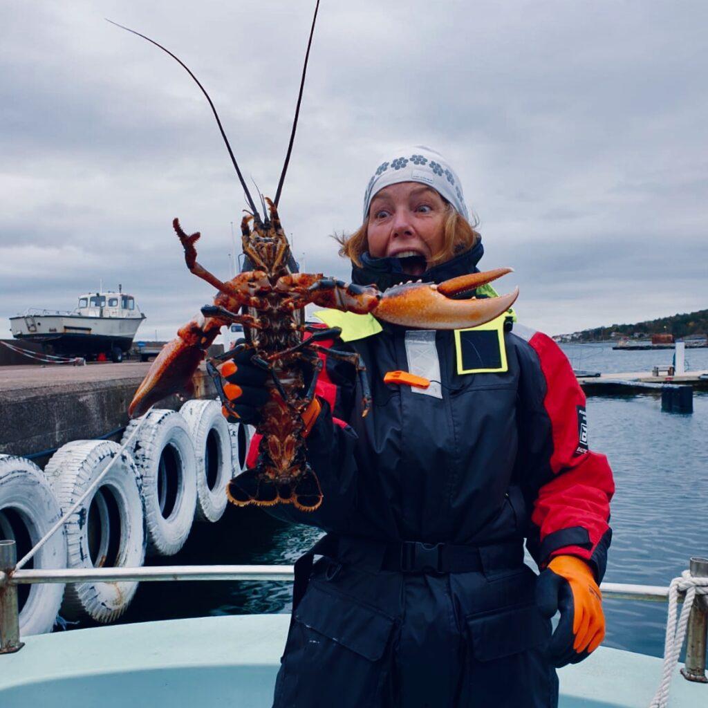 hummerfiske, Knippla, Malin Lundskog