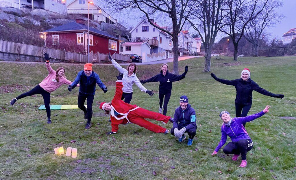 v på Knippla, träning, Malin Lundskog
